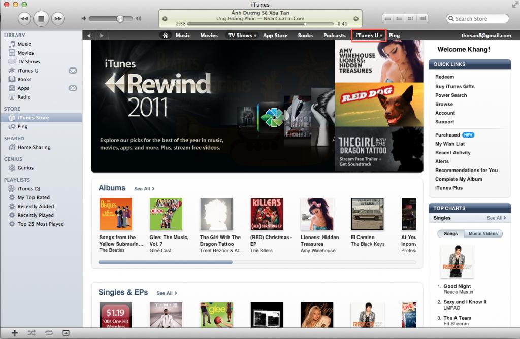General iTunesU