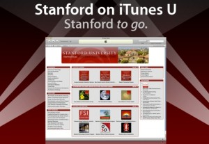 Stanford in iTunesU