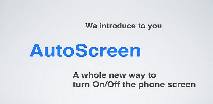 AutoScreen Release